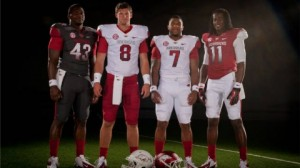Arkansas Razorback Football Uniforms