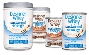 Designer Whey Sustained Energy Premium Protein Powder