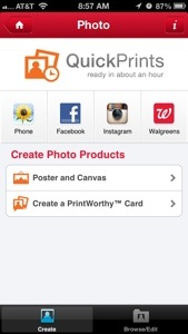 Walgreen's Photo App
