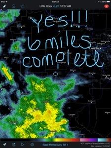 Racing the Rain! {Wordless Wednesday}