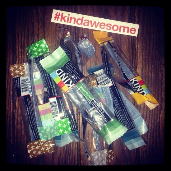 #kindawesome KIND Healthy Snacks Empty Wrappers
