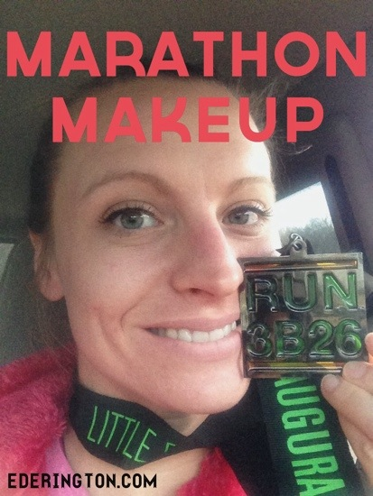 Makeup that will last a marathon