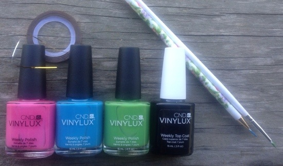Easter Mani Supplies