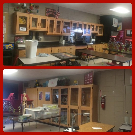 Right and Left Sides of my Classroom